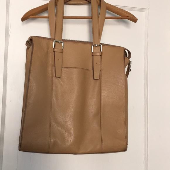 bd027f0c73a5 Banana Republic Handbags - Camel colored tote bag